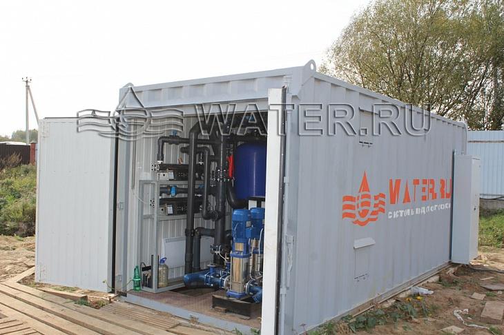 модульная станция производительностью 12м3/ч