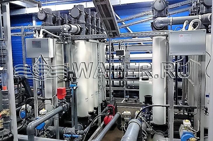 водоподготовка в промышленности